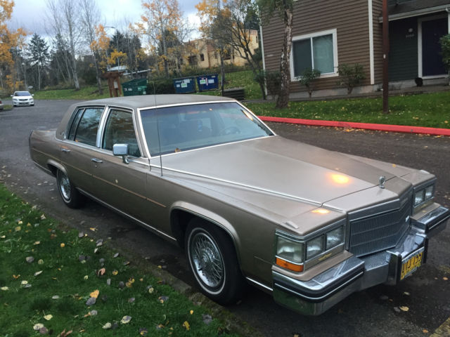 1985 Cadillac Fleetwood Brougham D Elegance For Sale