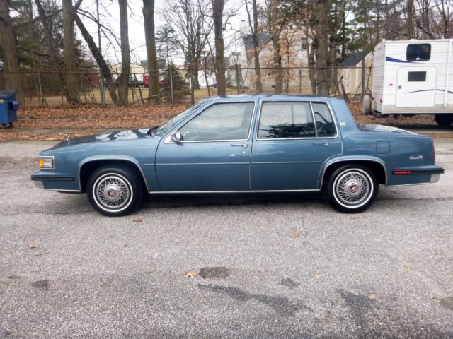 1985 Cadillac Sedan Deville 4dr Md State Inspected LOW ...
