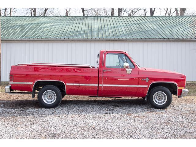 1985 Chevrolet C10 Silverado Pickup Red for sale