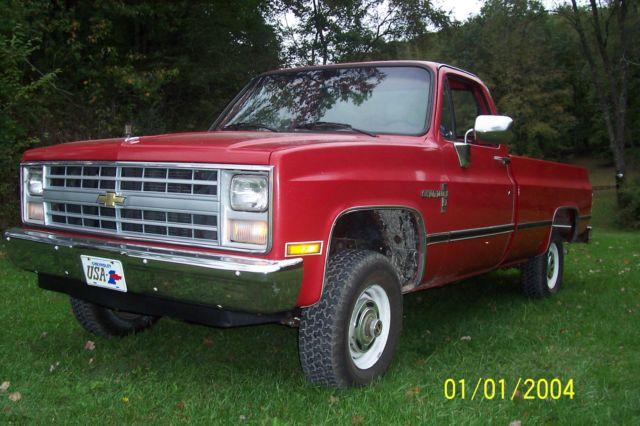 1985 CHEVROLET CUSTOM DELUXE K10 4X4 for sale - Chevrolet C