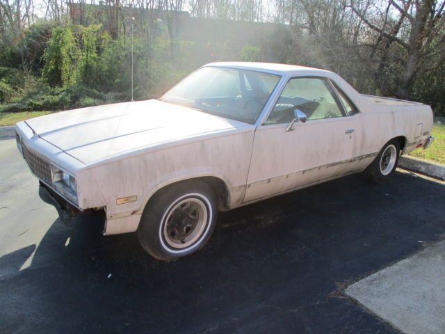 1985 Chevrolet El Camino Car Truck Restoration W Engine Transmission Salvage For Sale