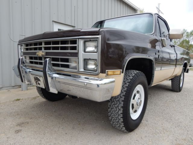 1985 chevrolet k20 350 v 8 4x4 rust free truck for sale chevrolet c k pickup 2500 1985 for. Black Bedroom Furniture Sets. Home Design Ideas