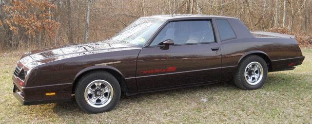 1985 Chevrolet Monte Carlo SS for sale - Chevrolet Monte Carlo 1985