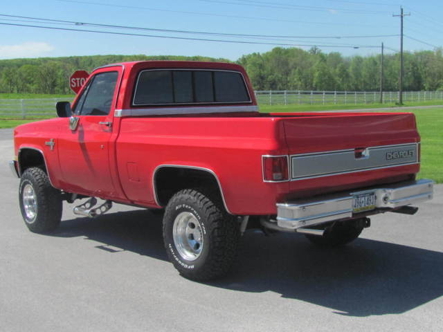 1985 Chevrolet Silverado K 10 for sale Chevrolet