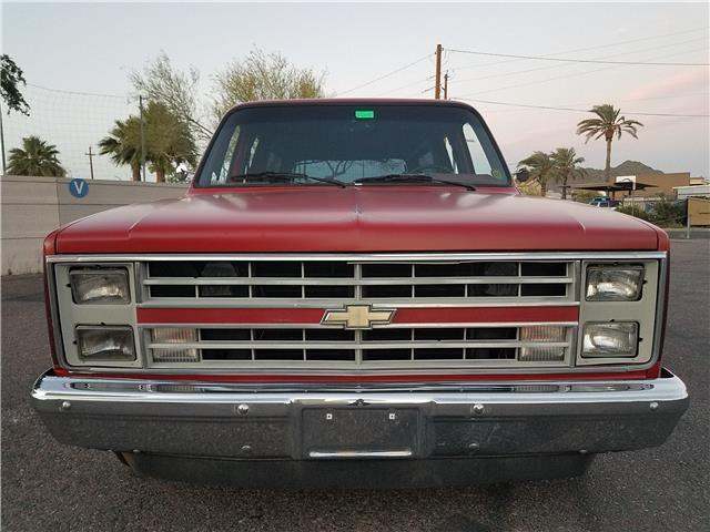 1985 chevrolet suburban 0 red 8 cylinder engine 5 0l 305 for 305 chevy motor for sale