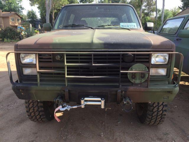 1985 Chevy Blazer K5 Cucv M1009 Military For Sale