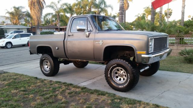 1985 chevy k10 short bed 4x4 truck for sale chevrolet c 10 k10 4x4 short bed 1980 for. Black Bedroom Furniture Sets. Home Design Ideas