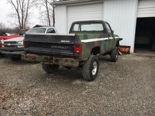 Chevy 6 2 Diesel Truck For Sale >> 1985 Chevy k30 CUCV Ex Military 1 1/4 truck Dana 60 6.2 diesel for sale - Chevrolet C/K Pickup ...