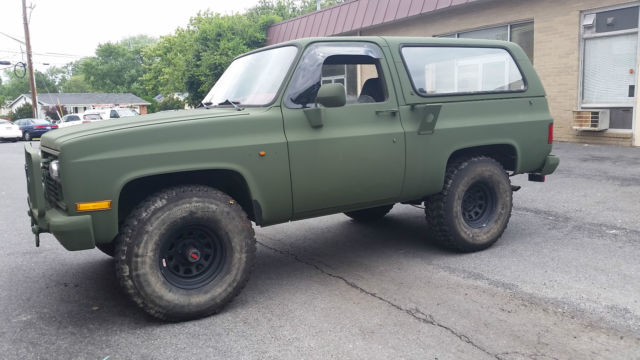 1985 Chevy K5 Blazer Cucv M1009 Military With Nitrogen