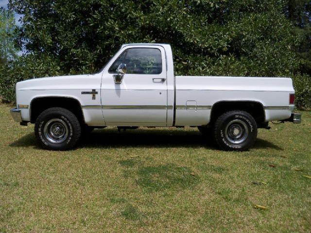 1985 Chevy Scottsdale Factory Original 6 2 Litre Diesel