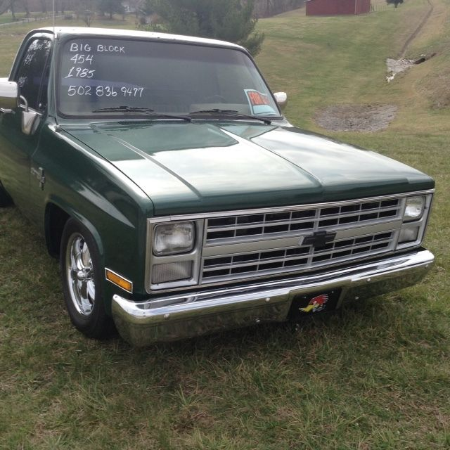 1985 Chevy Short Bed With Big Block 454 For Sale
