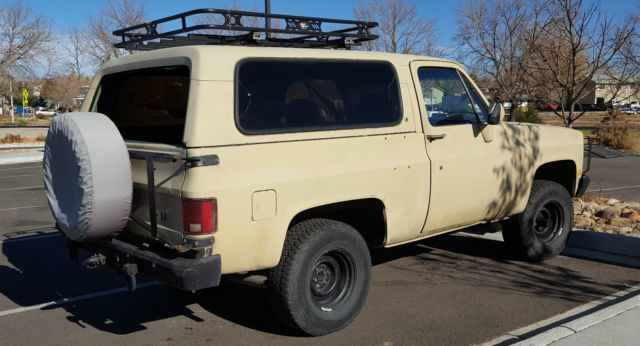 1985 cucv m1009 6 2 diesel k5 blazer for sale chevrolet blazer 1985 for sale in denver. Black Bedroom Furniture Sets. Home Design Ideas