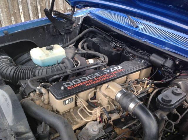1985 Dodge Ram 1992 Cummins Diesel For Sale Dodge Other