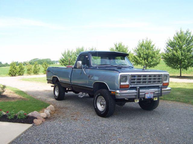 1985 dodge ram se 150 for sale dodge other pickups 1985 for sale in ada ohio united states. Black Bedroom Furniture Sets. Home Design Ideas