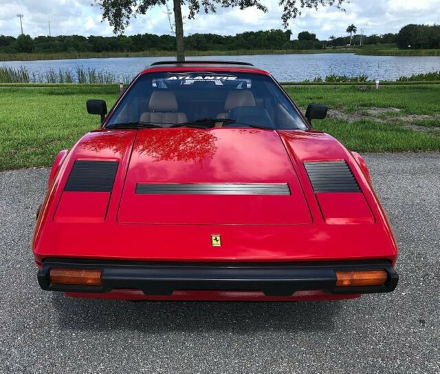 1985 Ferrari 308 GTS QV 46850 Miles Red For Sale