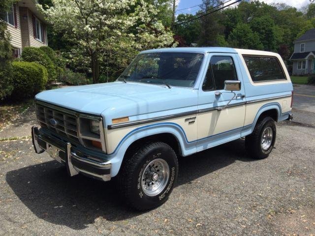 1985 ford bronco 5 8 liter 4v h o 100k actual miles one owner survivor for sale ford bronco. Black Bedroom Furniture Sets. Home Design Ideas