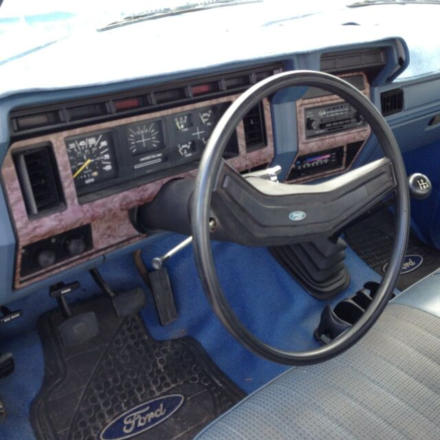 1997 Ford F350 Regular Cab Interior: 1985 Ford F-150 Blue Regular Cab Long Bed 2WD Pickup Truck
