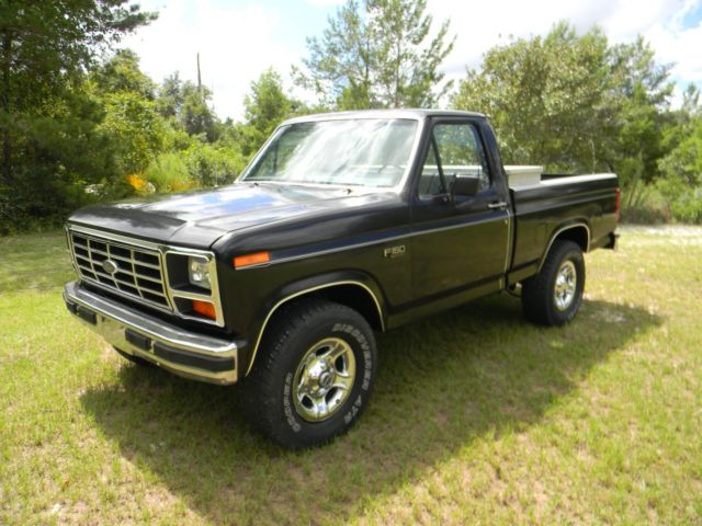 1985 ford f150 4x4 for sale ford f 150 truck 1985 for sale in altoona florida united states. Black Bedroom Furniture Sets. Home Design Ideas