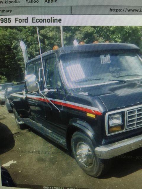 1985 Ford Van