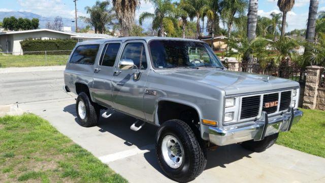 La Sierra Tires >> 1985 GMC SUBURBAN K2500 4X4 - 6.2L DIESEL LOW MILES for sale - GMC Suburban K2500 - 4X4 - DIESEL ...