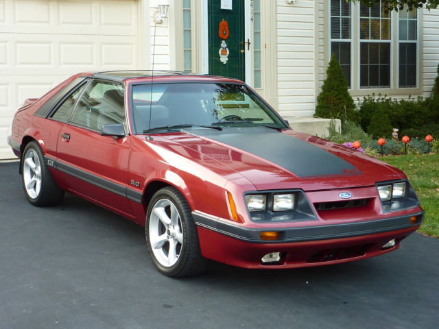 1985 GT Mustang T-Top for sale - Ford Mustang T-TOP 1985 ...