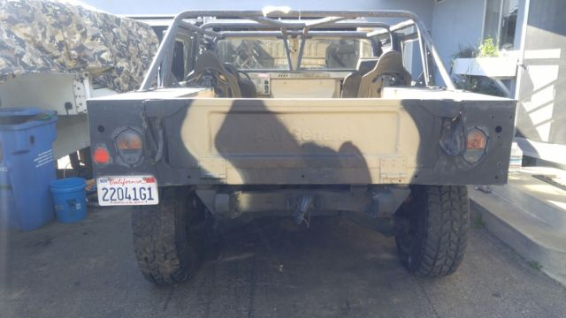 1985 humvee m998 hmmwv california plated for sale hummer h1 1985 for sale in grover beach. Black Bedroom Furniture Sets. Home Design Ideas