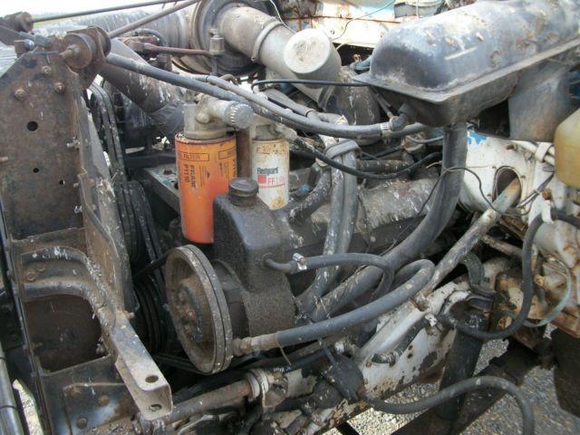 1985 IH S1700 Truck For Parts 85 9 0 Diesel V8 Motor IHC