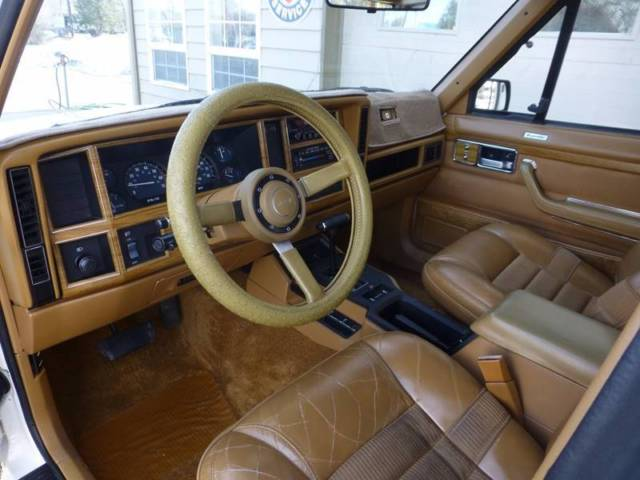 1985 Jeep Cherokee Wagoneer Limited 4wd With Only 82k