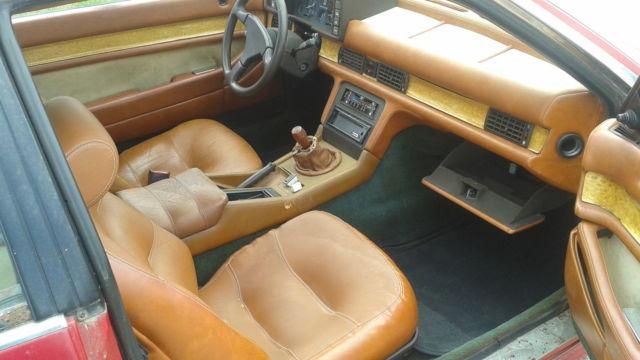 1985 Maserati Biturbo Coupe with Manual Transmission, Runs