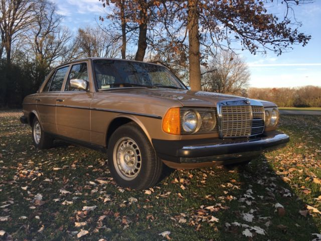 1985 mercedes 300d 43000 miles one owner car for sale for Mercedes benz diesel cars for sale