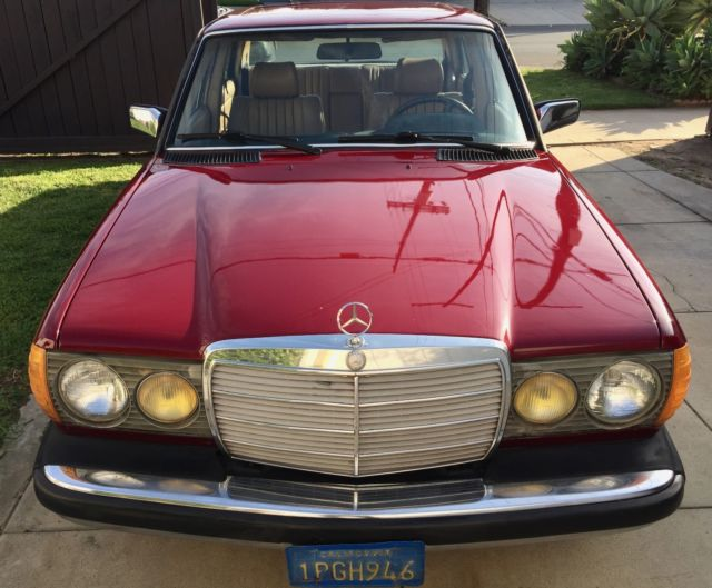 1985 mercedes 300d turbo diesel new paint for sale for Mercedes benz diesel for sale