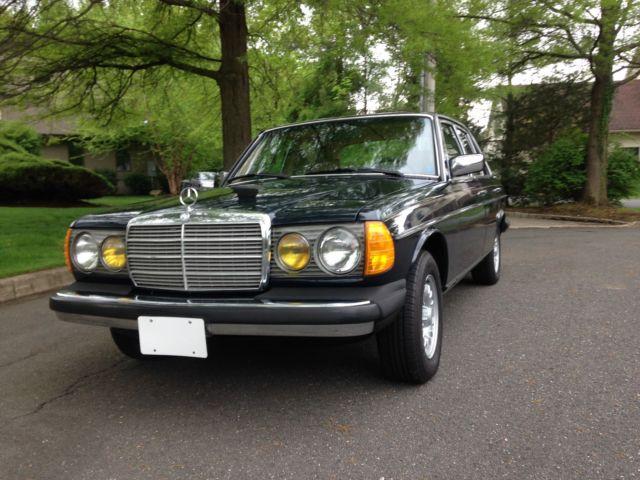 1985 mercedes 300dt for sale mercedes benz 300 series for Mercedes benz for sale nj