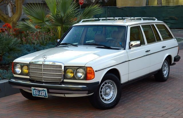 1985 mercedes 300td turbo diesel wagon 118k miles for Mercedes benz diesel wagon