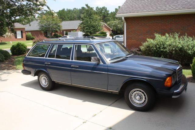 1985 mercedes benz 300 td station wagon for sale for Mercedes benz wagon for sale