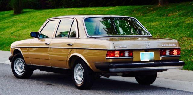 1985 mercedes benz 300d all original 91k miles rare color for 1985 mercedes benz 300d