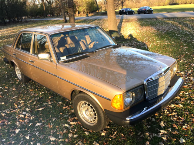 1985 mercedes benz 300d turbo diesel 43k for sale for Mercedes benz 300 diesel