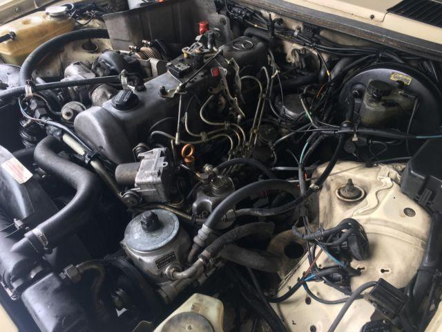 1985 mercedes benz 300d turbo diesel 71k miles church for Mercedes benz 300d engine for sale