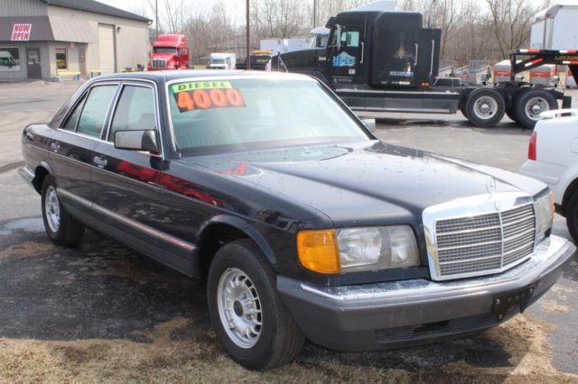 1985 mercedes benz 300sd base sedan 4 door 3 0l original for 1985 mercedes benz 300sd