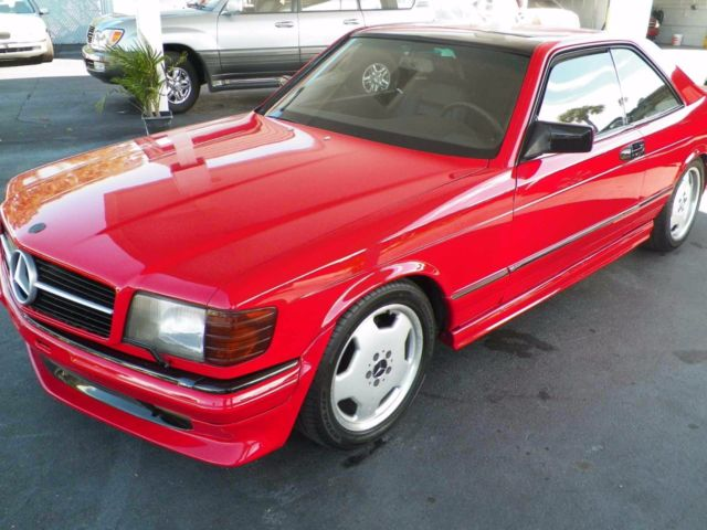 1985 mercedes benz 500 sec brabus coupe for sale for Mercedes benz s550 coupe for sale