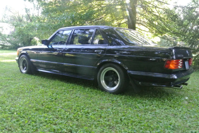 1985 mercedes benz 500sel amg for sale mercedes benz 500 for Mercedes benz waukesha