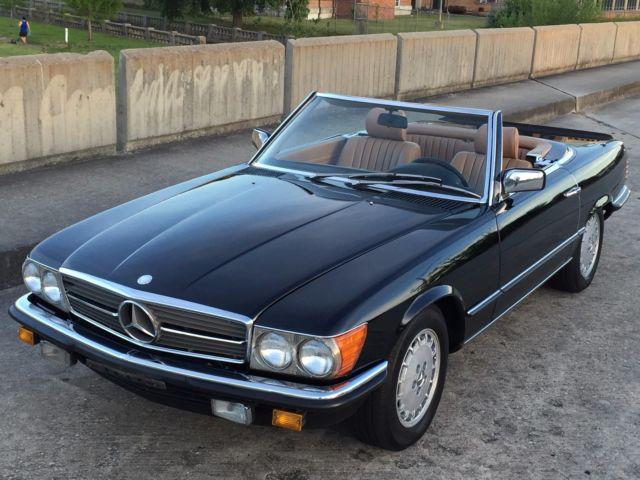 1985 mercedes benz 500sl w107 db 040 black original for 1985 mercedes benz 500sl