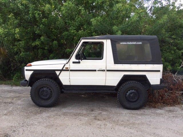 1985 mercedes benz gd 300 cabriolet hardtop diesel for for Mercedes benz g class cabriolet for sale