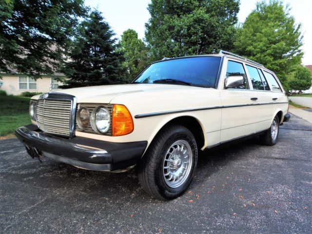 1985 Mercedes W123 300td Turbodiesel Diesel Wagon Completely Serviced No Reserve For Sale Mercedes Benz 300 Series W123 1985 For Sale In Carmel Indiana United States