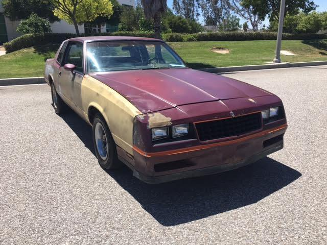 1985 monte carlo ss real ss 2 door no rust no bondo straight and solid for sale chevrolet. Black Bedroom Furniture Sets. Home Design Ideas
