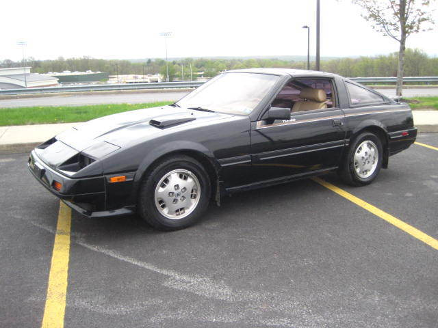 1985 nissan 300zx turbo coupe black targa t top 93k original owner 300 zx 86 84 for sale. Black Bedroom Furniture Sets. Home Design Ideas