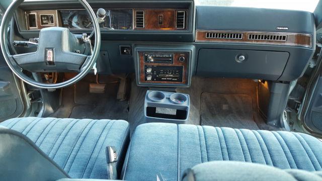 1985 Oldsmobile Cutlass Supreme Base Sedan 4 Door 3 8l For Sale Oldsmobile Cutlass 1985 For