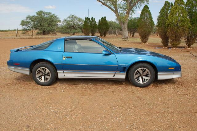 1985 Pontiac Trans Am Factory 5 Speed 61 000 Original