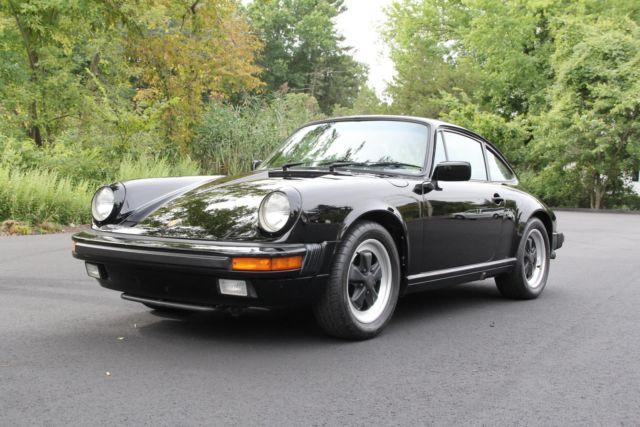 1985 porsche 911 26702 miles black coupe flat 6 cylinder engine manual for sale porsche 911. Black Bedroom Furniture Sets. Home Design Ideas