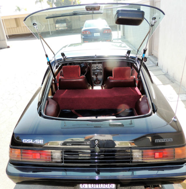 Huntington Beach Mazda >> 1985 RX7 GSL-SE Black - ONLY 81.5K Original Miles! for sale - Mazda RX-7 GSL-SE 1985 for sale in ...