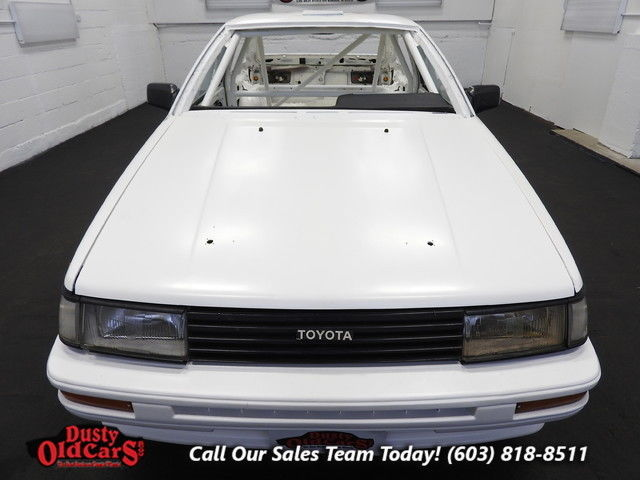 1985 toyota corolla for sale toyota corolla sport gts cage setup for racing does not run 1985. Black Bedroom Furniture Sets. Home Design Ideas